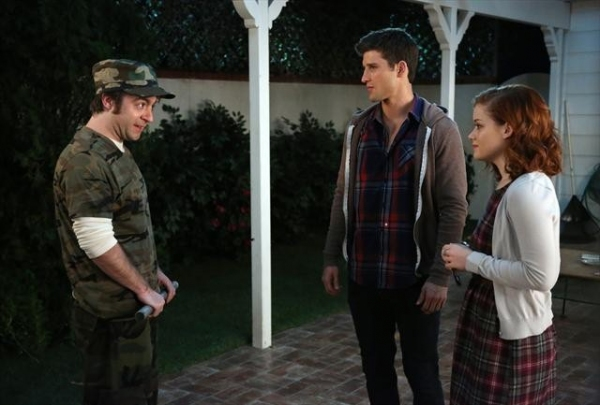 DEREK WATERS, PARKER YOUNG, JANE LEVY Photo