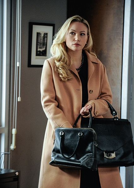 """""""Protest Too Much""""--  Whitney Robshaw (guest star Sarah Wynter) from the ACLU meets with Frank on a business matter, and he considers getting romantically involved with her, on BLUE BLOODS, Friday, March 8 (10:00-11:00 PM, ET/PT) on the CBS Television Net"""