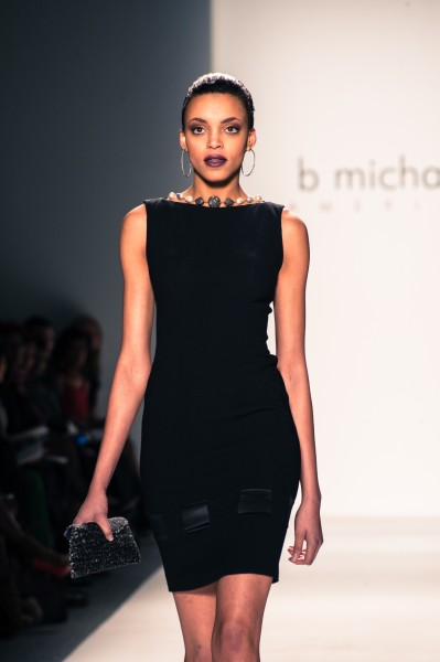 B Michael Returned to Mercedes-Benz Fashion Week Celebrating Women