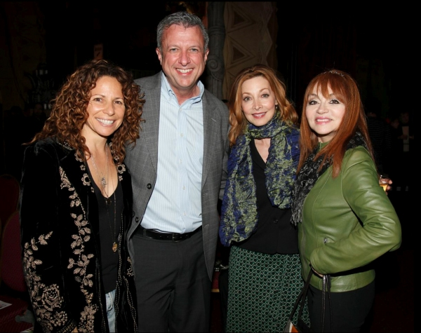 Meredith Scott Lynn, Keith McNutt, Sharon Lawrence, and Judy Tenuta