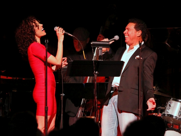 "Janet Dacal and Clint Holmes sing �""Havana"""