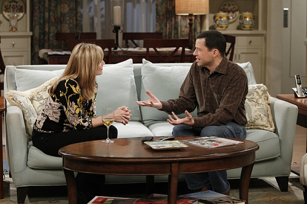 at TWO AND A HALF MEN's 'The 9:04 from Pemberton,' Airing 3/7