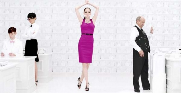 Photo Coverage: Coco Rocha's New Black House White Market Ad