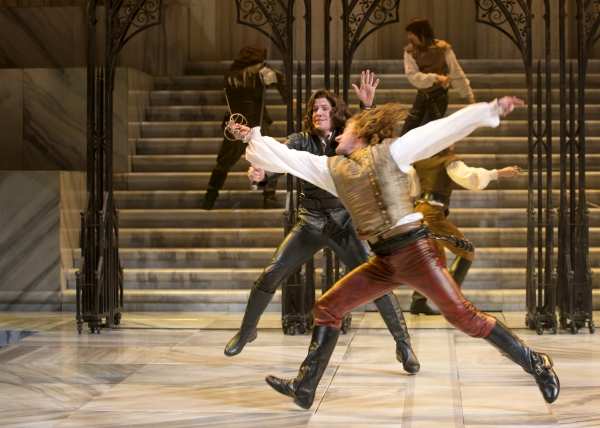 Photo Flash: First Look at Christopher Allen, Laura Rook and More in CST's SHORT SHAKESPEARE! ROMEO AND JULIET
