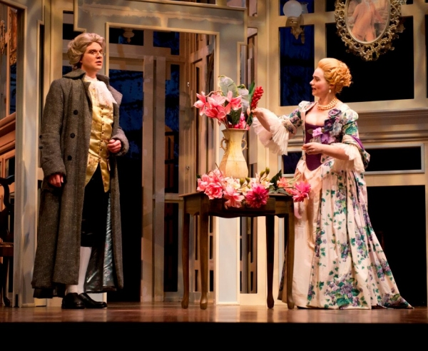 Photo Flash: First Look at Indiana University's SCHOOL FOR SCANDAL; Opens Tonight!