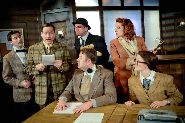 Photo Flash: First Look at Michael Dailey, Sarah Goeden and More in IMPROBABLE FREQUENCY