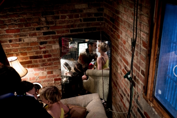 Photo Flash: First Look at Dangerous Ground's L'AMOUR FOU at The Brick