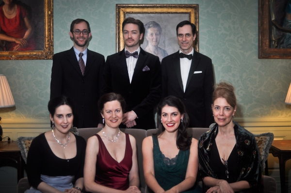 back row: Michael Keyloun, Brian Charles Rooney, Bill Connington front row: Stephanie D'Abruzzo, Annmarie Benedict, Jennifer Sheehan, Gayton Scott
