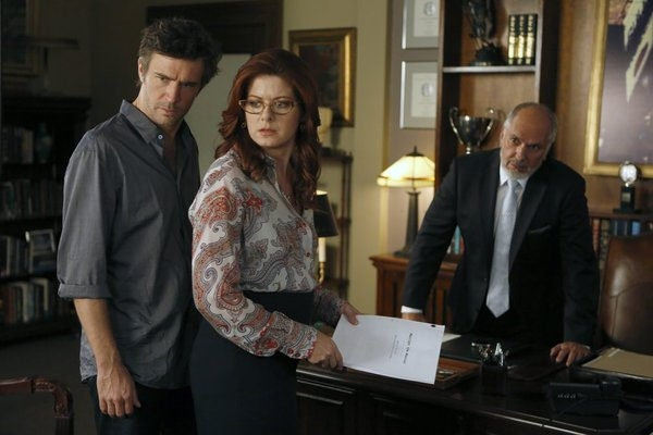 Jack Davenport, Debra Messing, Michael Christofer