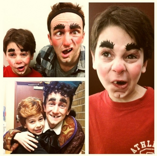 Photo Flash: SIPS, Feb 23 - NEWSIES Recreate Best Picture Nominees & More!