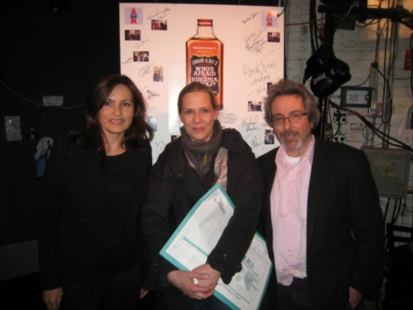 Tracy Letts, Amy Morton and Warren Leight