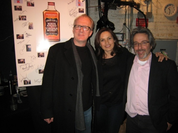 Photo Flash: Mariska Hargitay, Warren Leight Visit WHO'S AFRAID OF VIRGINIA WOOLF