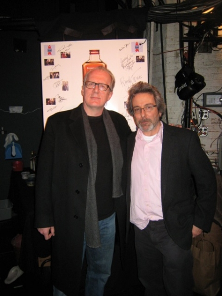 Tracy Letts and Warren Leight