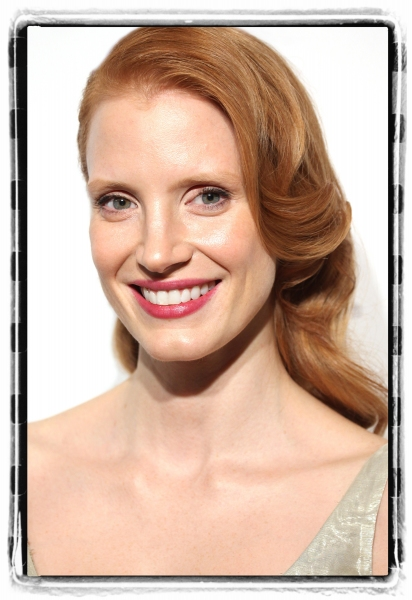 Jessica Chastain attends the American Theatre Wing's annual gala at the Plaza Hotel on Monday Sept. 24, 2012 in New York. at Journey to the Oscars Portrait Gallery: The Ladies