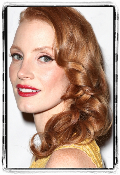 Jessica Chastain attending the Broadway Opening Night After Party for 'The Heiress' at The Edison Ballroom on 11/01/2012 in New York. at Journey to the Oscars Portrait Gallery: The Ladies