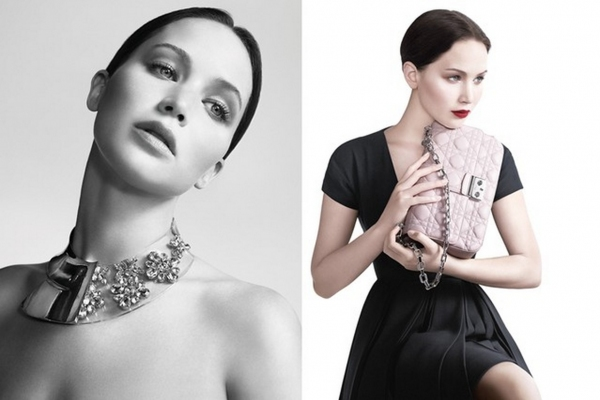 Photo Coverage: Jennifer Lawrence Miss Dior Ad