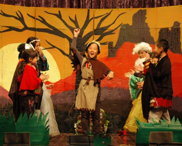 Photo Flash: First Look at Beijing Playhouse Academy's KING ARTHUR AND GUINEVERE