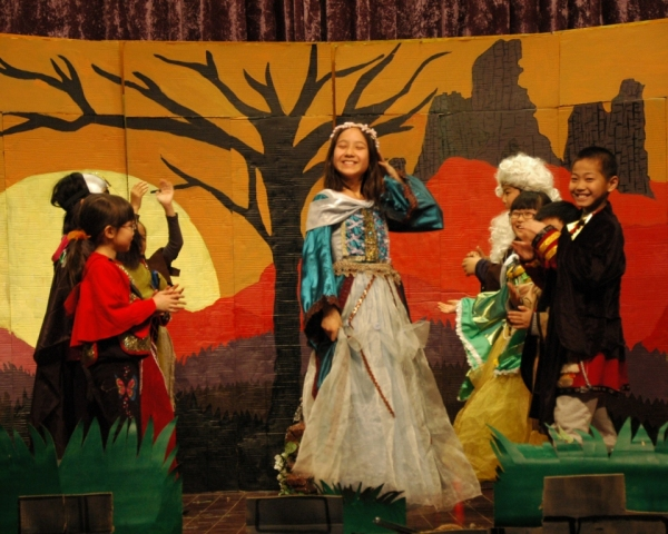 Katherine Johnson as Guinevere and Company Photo