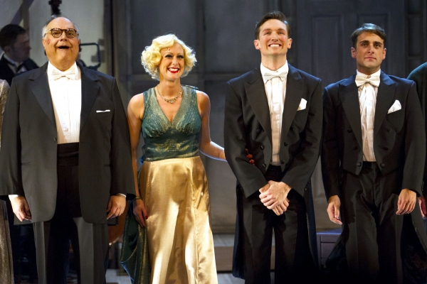 Mike McShane, Faye Tozer, Dylan Turner and Bradley Clarkson