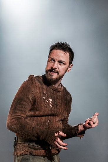 Photo Flash: First Look at James McAvoy and More in West End's MACBETH