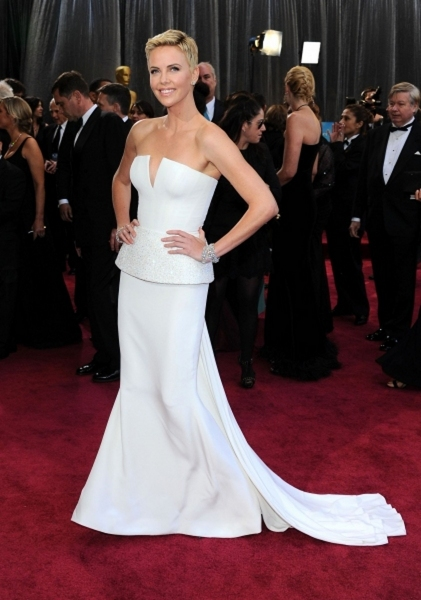 Charlize Theron (Wearing Christian Dior) Photo