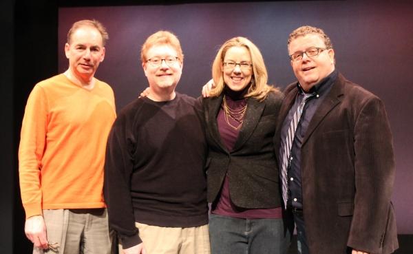 Andrew Levine, Mark Kaufmann, Beth Falcone and James Morgan Photo