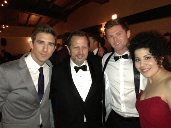 With Cody Green, Rob Ashford, Spencer Liff Photo