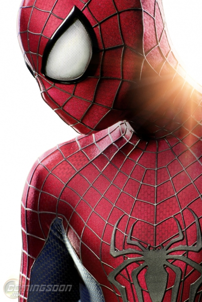 Photo Flash: First Look - Peter Parker's New Costume in THE AMAZING SPIDER-MAN 2