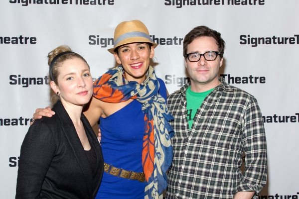 Photo Coverage: Inside Opening Night of THE DANCE AND THE RAILROAD