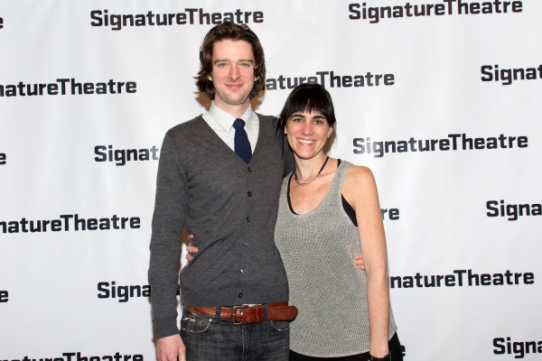 Will Rogers, Leigh Silverman at Inside Opening Night of THE DANCE AND THE RAILROAD