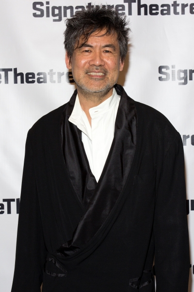 David Henry Hwang at Inside Opening Night of THE DANCE AND THE RAILROAD