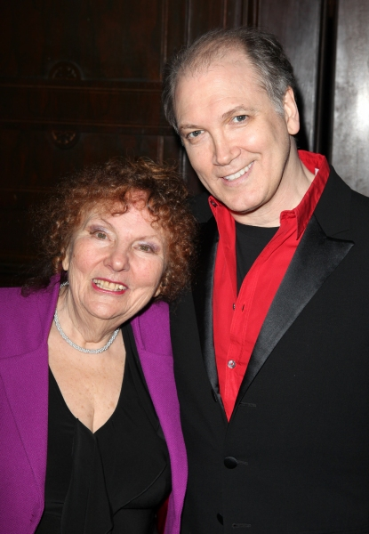 Artistic Director Crystal Field & Charles Busch at Theater for the New City Gala Honors Charles Busch