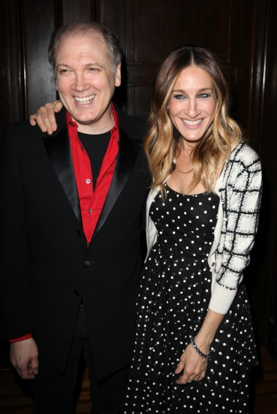 Charles Busch & Sarah Jessica Parker at Theater for the New City Gala Honors Charles Busch