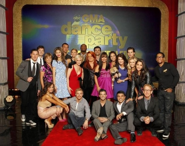 Photo Flash: First Look - New Cast of DANCING WITH THE STARS
