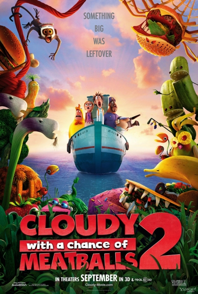 Photo Flash: First Look - Poster for CLOUDY WITH A CHANCE OF MEATBALLS 2