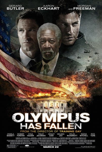 Photo Flash: First Look - Poster Art for Action Thriller OLYMPUS HAS FALLEN