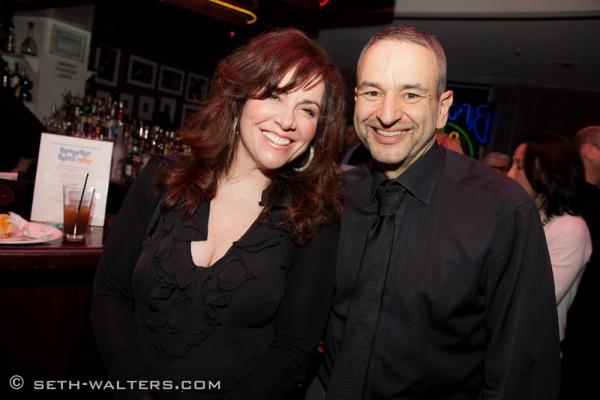 Debbie Gravitte and Joe DiPietro