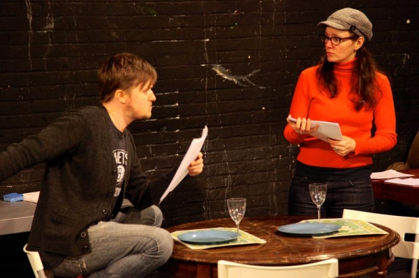 Photo Flash: In Rehearsal with Lesser America's TREVOR at Theater for the New City