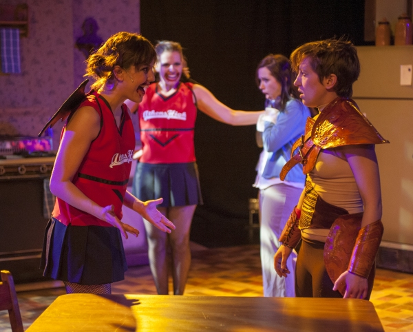 Photo Flash: First Look at Buzz22 Chicago's SHE KILLS MONSTERS in Steppenwolf's Garage Rep 2013