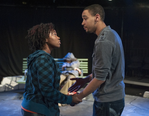 Photo Flash: First Look at Theatre Seven's BLACKTOP SKY in Steppenwolf's Garage Rep 2013