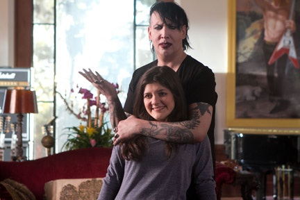 Rock Star Marilyn Manson Guest Stars on This Week's CALIFORNICATION
