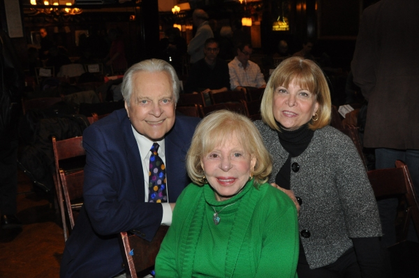 Robert Osborne, Anita Jaffe and Marylee Terrano (Gingold Theatrical Group Advisory Board)