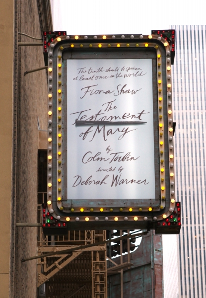 Up on the Marquee: More of THE TESTAMENT OF MARY