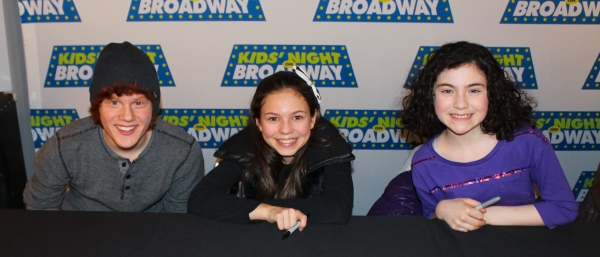 Photo Coverage: Inside the KIDS' NIGHT ON BROADWAY Pre-Show Party with Lilla Crawford, Andrew Keenan-Bolger & More!