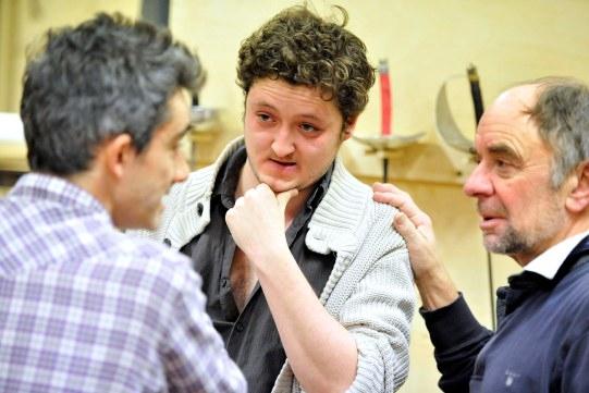 Photo Flash: Sneak Peek at Jonathan Slinger, Greg Hicks and More in RSC's HAMLET