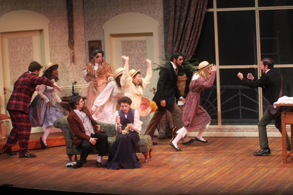 Photo Flash: PARADISE HOTEL Now On Stage at UH School of Theatre