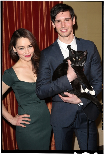 FREEZE FRAME: Emilia Clarke & Cory Michael Smith & BREAKFAST AT TIFFANY'S Cast Meet the Press!