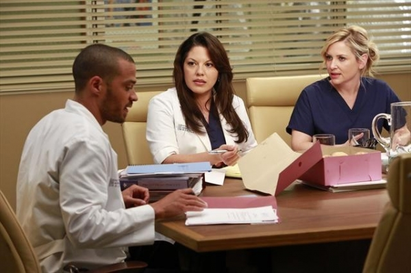 JESSE WILLIAMS, SARA RAMIREZ, JESSICA CAPSHAW