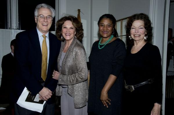 Jeffrey Lyons, Linda Lavin, Lynn Nottage, Gretchen Cryer