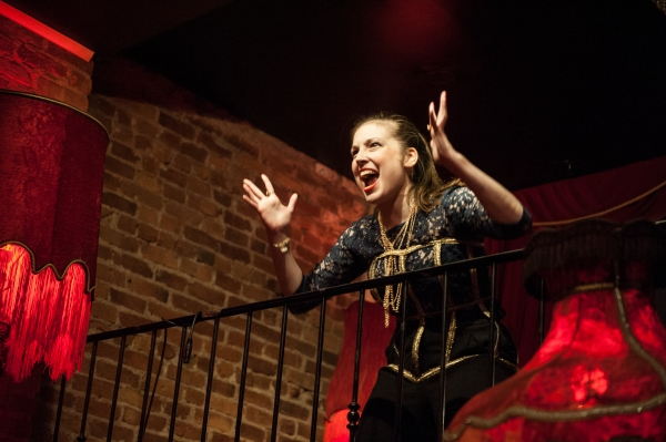 Photo Flash: First Look at Miranda Huba in CANDY TASTES NICE at Madame X